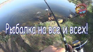 Рыбалка на все и на всех! Окунь, судак, карась, толстолоб и т д