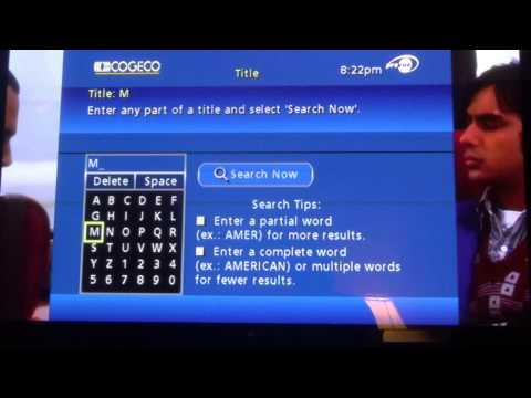 Cogeco How to find your show