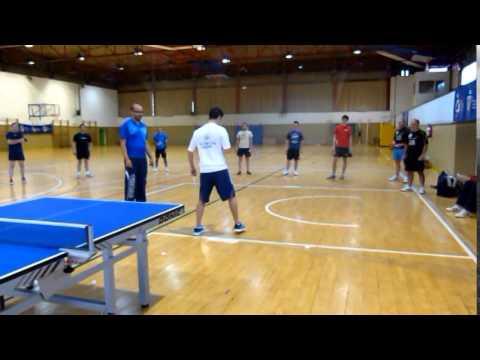 coordinaci n en tenis de mesa rfetm youtube