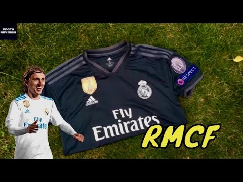 hot sale online ae109 d2502 DHgate REAL MADRID 2018/19 UCL AWAY JERSEY REVIEW! | FOOTY Reviews
