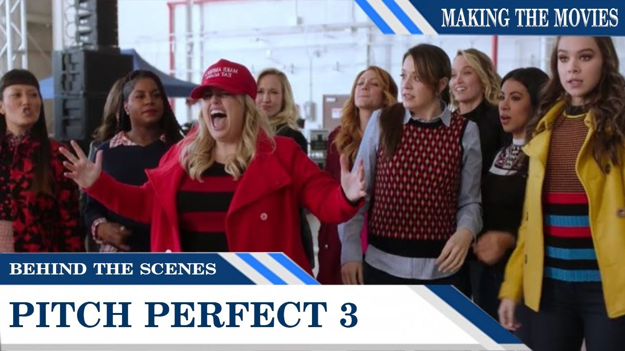 Behind the scenes pitch perfect 3 is aca awesome - Pitch perfect swimming pool scene ...