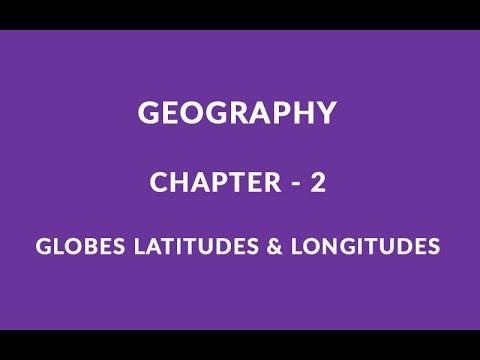 Globe Latitudes And Longitudes