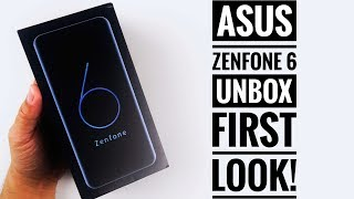 Asus Zenfone 6 Unboxing Andamp First Look
