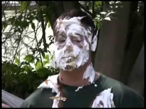 Older Male Pie In Face Trailer Youtube