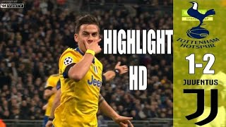Tottenham vs juventus 1-2 agg(3-4) all goals and highlights ucl(08-03-2018)
