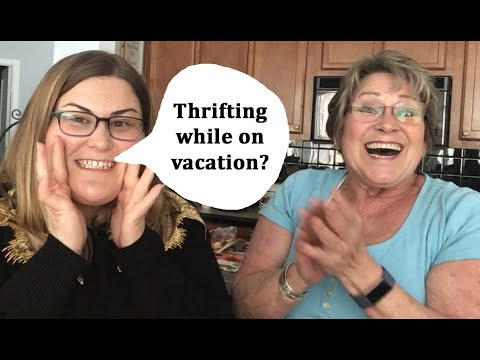 Thrift Shopping While Visiting Bellingham, WA - Travel Vlog
