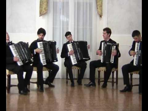 """Rossini - Sinfonia da """"L'Italiana in Algeri"""" - Quintetto Veneto di fisarmoniche"""