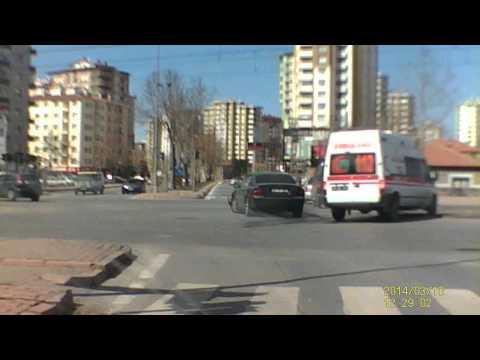 kayseri ambulans kazası