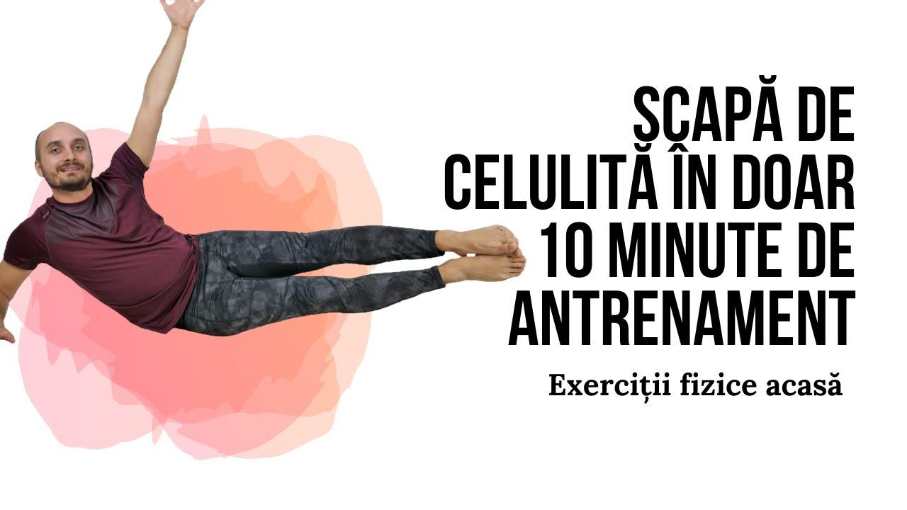 Exerciții fizice pentru pielea lăsată și celulită // MoveInspireFIT // Ziua 3