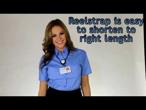 Airport badge ID-badge holder Reelstrap wholesale USA and Europe, for Airport badging