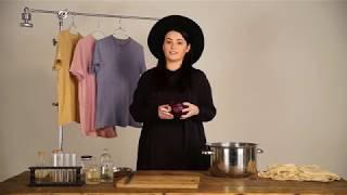 Lauren Bowker - Un t-shirt qui change de couleur en fonction de la pollution de l'eau