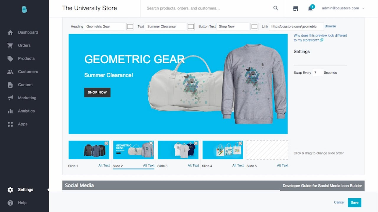 carousel tips and tricks launch store bigcommerce university
