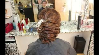 Вечерние и свадебные прически(Подписаться на канал
