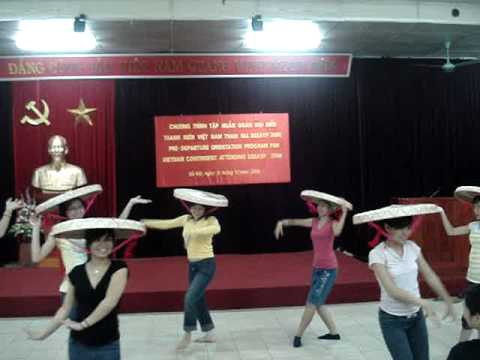 """""""Spring in the Village"""" - Dance with Quai thao hats"""