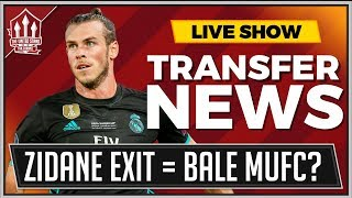 ZIDANE Helps BALE Transfer? Manchester United Transfer News