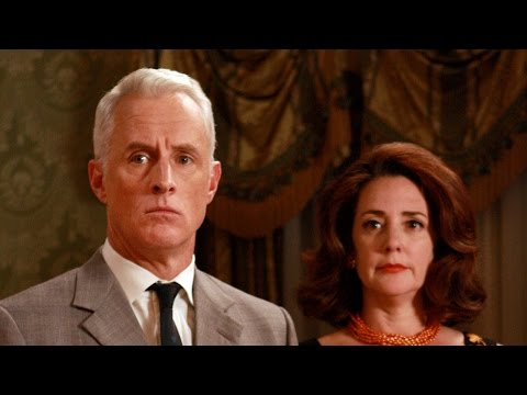 'Mad Men's' John Slattery and Talia Balsam dish on the series' end