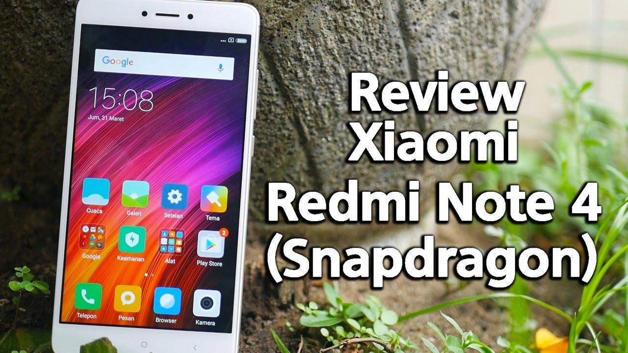 Review Xiaomi Redmi Note 4 Pro Snapdragon Indonesia Youtube