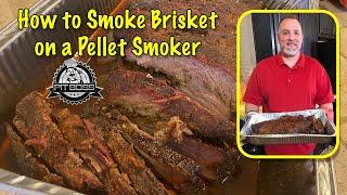 How to Smoke Brisket on a Pellet Smoker