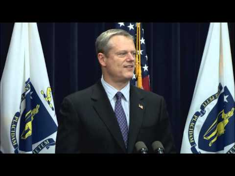 Governor Charlie Baker reacts to Supreme Court decision on gay marriage