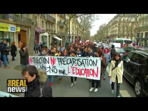 French Austerity Program Provokes Growing Wave of Worker and Student Strikes