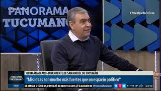 """No es momento de hipocresías"", dice Germán Alfaro en  #PanoramaTucumano  (8/04/2020)"