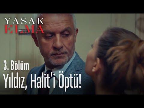 Yıldız, Halit'i öptü! - Yasak Elma 3. Bölüm