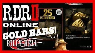 RDR2 Online - Spending Your Gold Bars! Red Dead Redemption 2 Online