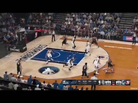 NBA 2K15 San Antonio Spurs Vs Minnesota Timberwolves 21-11-2014
