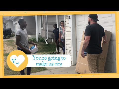 Teen Who Thought Neighbors Hated Him Playing Basketball Gets Amazing Surprise