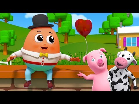 Humpty Dumpty Canção   Rima De Berçário   Portuguese Nursery Rhymes   Farmees Português