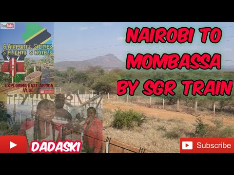 Day 6 - Nairobi To Mombassa By SGR Train #mombasa #1stclass