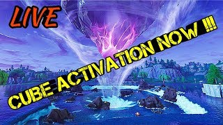GHOST PORTAL + *CUBE ACTIVATION NOW* !!! | Fortnite Battle Royale