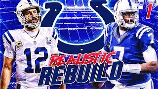 Andrew Luck's SHOCKING Retirement -- Brissett Era in Indy | Colts Madden 20 Realistic Rebuild | Ep 1