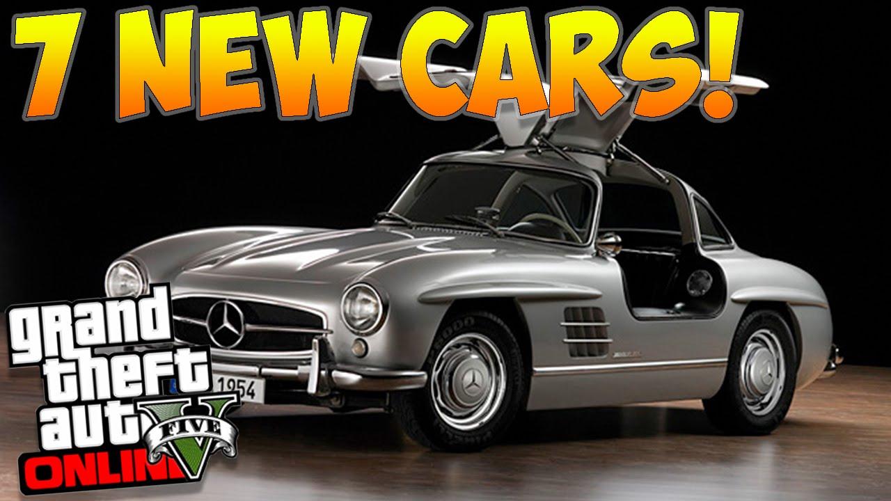 """GTA 5 Online: 7 NEW CARS COMING! NEW """"Benefactor Prestige"""