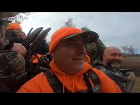 2019 Deer Hunt Dog Driving At White Circle Hunting Club!