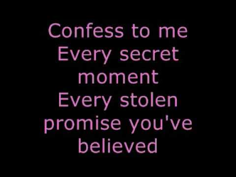 The Last Goodnight - Pictures of you ( Lyrics ) ...