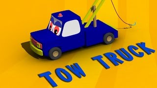 Tow Truck | Formation And Uses | 3D Video For Kids