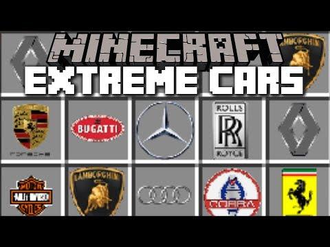 Minecraft CAR MOD / RIDE AROUND IN GTA 5 REALISTIC CARS AND KEEP THEM!! Minecraft