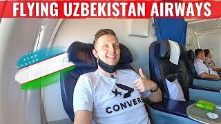 UZBEKISTAN AIRWAYS CRAZY VIP EXPERIENCE in Business Class!