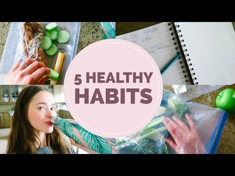 5 Healthy Habits You Need To Start Doing Today   Mommy, Model, Holistic Nutritionist Tips