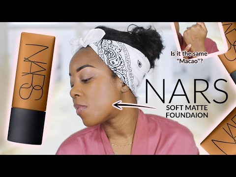 NARS MAY HAVE GIVEN US THEIR BEST FOUNDATION YET...   NARS SOFT MATTE FOUNDATION   Andrea Renee