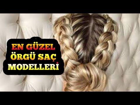 En Guzel Kadin Genc Kiz Ve Ogrenciler Icin Sac Orgu Model Ve Ornekleri Youtube