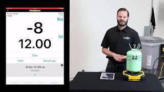 SRS3 Wireless Refrigerant Scale