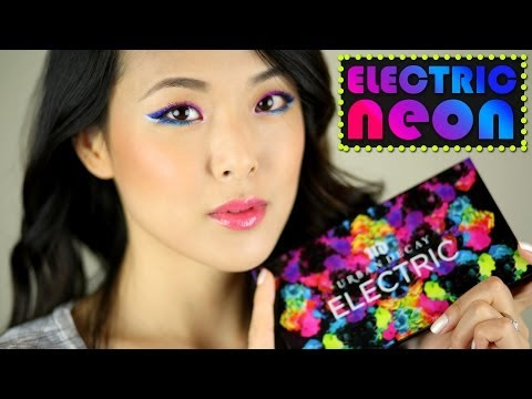 TUTORIAL: UD ELECTRIC NEON Ombre Winged Eyes