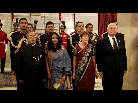 Governor General of Canada calls-on the President on February 24, 2014