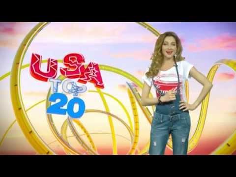 USA TOP 20 с Юлией Тойвонен на канале Music Box UA (эфир от 23.03.15)