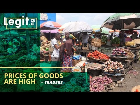 Legit Market Survey: Prices of Goods Are High, Even The Customers Are Scarce - Traders | Legit TV