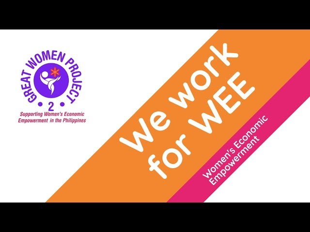 We work for WEE-Empowering Women and Communities