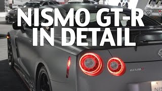 video thumbnail of Nissan GT-R NISMO Chief Even Tunes his own GT-R - SEMA 2014