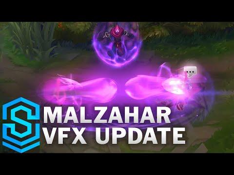 Malzahar Visual Effect Update Comparison - All Skins | League Of Legends